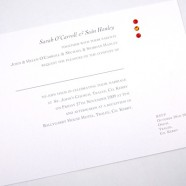 Swarovski Cyrstal Day Invitation