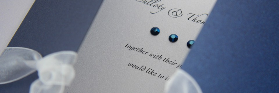 Swarovski Crystal Invitations